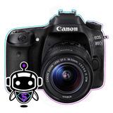 P R O F E S I O N A L Canon 80d + Memoria + Tripode + Maleta