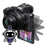 Nikon Z50 Mirrorless 4k + Lente + Maleta + Tripode + 128gb !