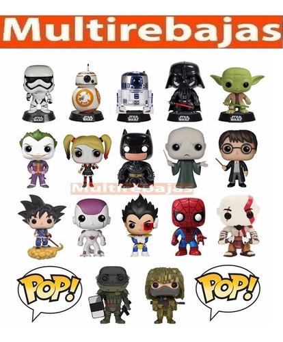 Muñecos Funko Pop! Varios Modelos Disney Star Wars Marvel