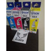 Tintas Originales Epson Ecotank Juego De 4 Colores Guayaquil