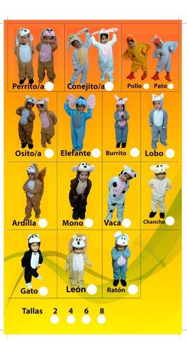Disfraces Cosmi De Animales Para Niños Tallas 2-4- Promoción