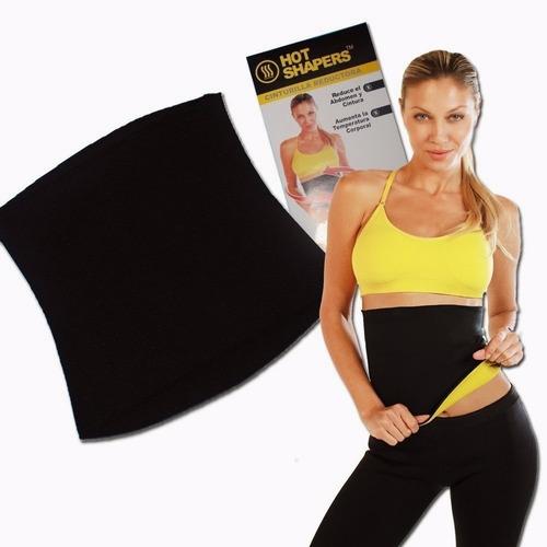 Faja Cinturilla Hot Shaper Velcro Ajustable Power Térmico
