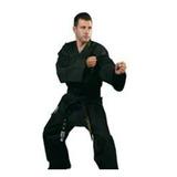 Uniforme Oficial Taekwondo Wtf Importado Negro O Blanco