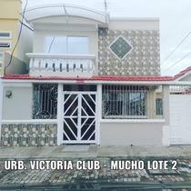 Alquilo Preciosa Villa - Mucho Lote 2 Urb. Victoria Club