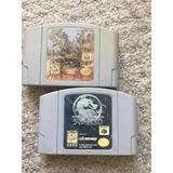Juegos Mortal Kombat Trilogy Subzero Nintendo 64 Originales