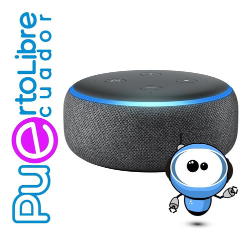 Potente Parlante Amazon Echo Dot 3 Smart + Asistente Alexa