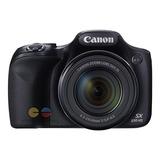 Canon Cámara Semi-profesional Sx530 16mp Wifi Nfc 50x Zoom