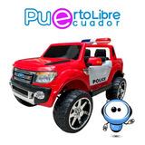 Liquidacion Carro Grande Bateria 2 Niños Ford Toyota + Luces