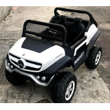 Carro A Bateria Mercedes Benz Unimog 4 Motores Asiento Cuero