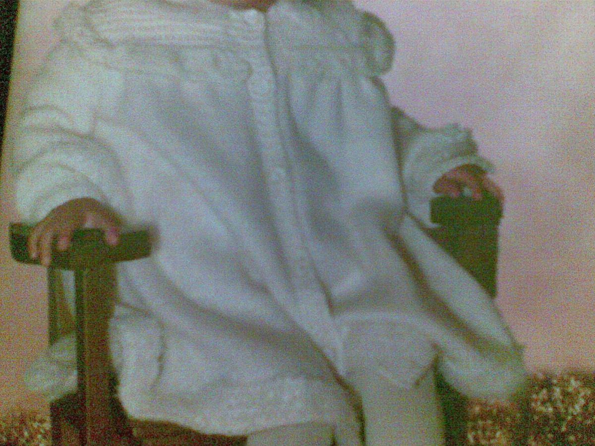 Gorro Niña Crochet Lana Hecho A Mano Ganchillo Picture