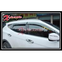 Guardalluvias Original Negro Filo Cromado Hyundai Santa Fe N