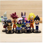 Set 8 Figuras De Dragon Ball Super Película Bills Whis Goku