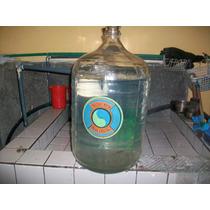 Antigua Botella Vidrio Dama-juana 18,9 Ltros, Mide 53 Ctms.