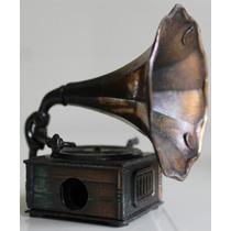 Sacapuntas Antiguo Años 70 Modelo Fonografo Nuevo