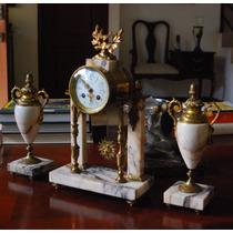 Reloj Guarnición De Mesa Francés