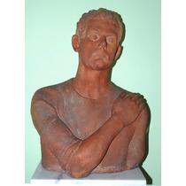 Busto Sola Franco, Terra Cotta, 1915-1966