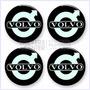 Juego De Tapacubos Volvo - Stickers Para Vehículos Tuning