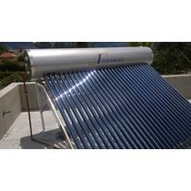 Calefon Solar 300 Litros Verdadero Presurizado Instalado