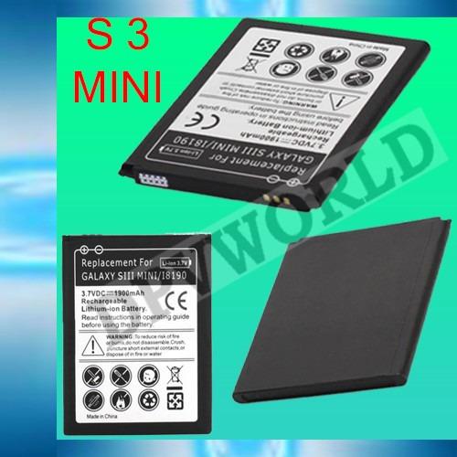 Bateria Repuesto Samsung Galaxy S5 Mini S4 Mini S4 S3 Min S3
