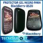 Funda Soft Gel Protectora Blackberry 8520 *** Negra ***