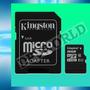 Memoria Micro Sd 16gb Kingston Clase 10 Tarjeta