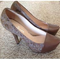 Zapatos Hermosos Nuevos!! Taco Alto .