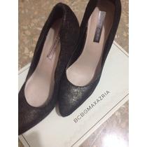 Zapatos Mujer Bcbg Talla 36.5 Con Plataforma Taco