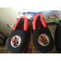 Zapatos Acolchonados Para Niño Star Wars Talla 9-10 Nuevos