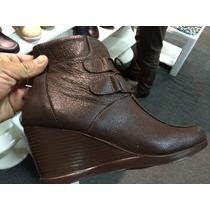 Zapatos De Mujer Estilo Botines Plataforma Talla 8..7