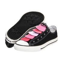 Converse Zapatos Talla 4 = 36 Multi Lenguas Color Negro