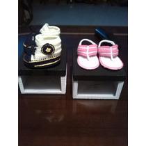 Converse Y Zapatos Para Bebe Tejidos