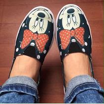 Zapatos De Mujer Originales Diseños Michey ,minnie,