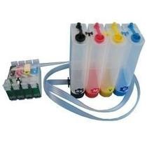 Sistema Continuo De Tinta Compatible Epson Tx560 Tx620