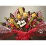 Arreglos Frutales, Flores Y Canastas Navideñas De Chocolates