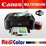 Impresoras Multifunción Wi-fi Canon Mx472 +tinta Continua...