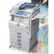 Copiadora,impresora,scaner Ricoh B/n Y Color Mp C 2550