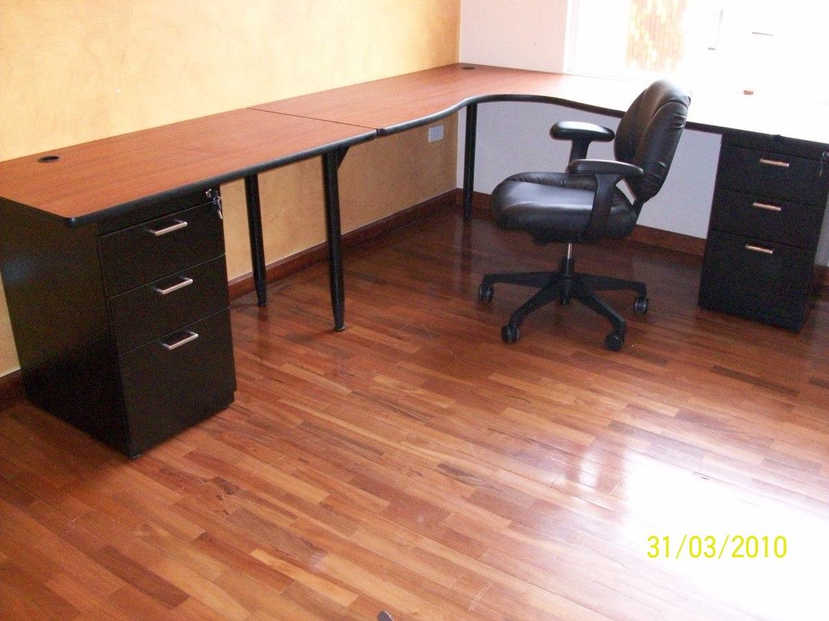 En L Escritorios Muebles De Oficina  U$S 200,00 en MercadoLibre
