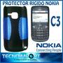 Estuche Protector Nokia C3 Microperforado Engomado Exterior