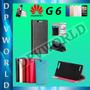 Estuche Tipo Agenda Huawei Ascend G6 4g