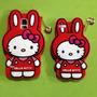 Hello Kitty Case 3d S3 S4 S5 Mini Iphone 5 Sony Z1 Z2 Z3 M2