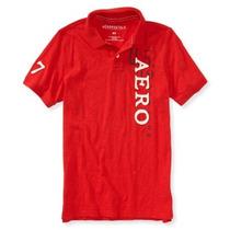 Camisetas Tipo Polo Aeropostale Para Hombre Talla Small