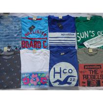 Camisetas T-shirt Hollister Large Small