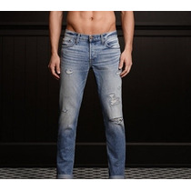 Hollister Jeans Skinny Destroyed Talla 32x32 $65+envio Grati