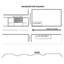 Cambio O Vendo Terreno 250m2 Punta Blanca, Santa Elena