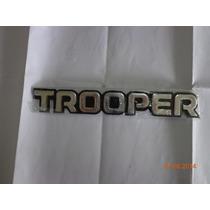 Emblema De Chevrolet Trooper Lateral