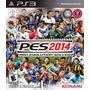 Ps3 Pes 2014 Nuevo De Paquete Precio Incomparable