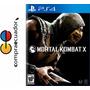Mortal Kombat X Mk10 Ps4 Disco Fisico Original Nuevo Ps4