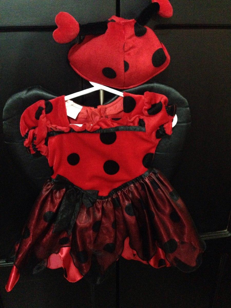 Lindo disfraz de mariquita para beb de 6 9 meses muy - Disfraz de mariquita bebe ...