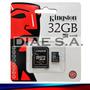 Memoria Micro Sd 32gb Kingston Clase 10 Tarjeta Memory Usb