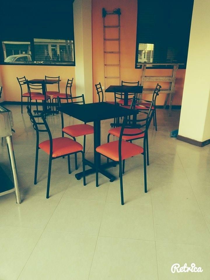 Mesas para restaurant sillas de comedor muebles de oficina for Mesas para oficina precios